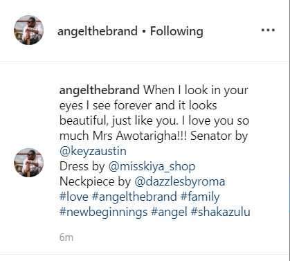 9304692 xd png81770769cb3f12f2d7d4fc5cb4b66e4f - BB Naija Star, Angel Shares Cute Photo of Himself and Wife [See Picture]