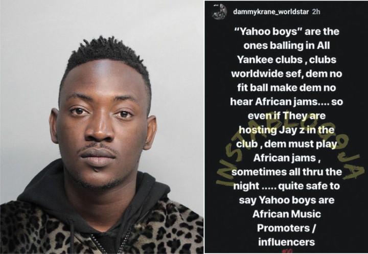 9318983 dammykrane jpeg125ace3245b62fa951024994038cd43a - Yahoo Boys Promote African Music Outside Africa – Dammy Krane Reveals