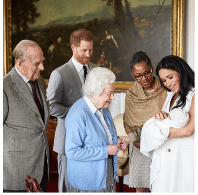 Capture 13 - Duke and Duchess of Sussex finally announce their son's name