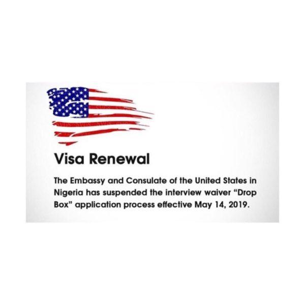 ED974DD6 35D3 4760 9291 7802B981E37A - US embassy suspends 'Drop Box' visa for Nigerians
