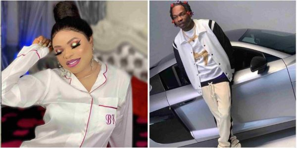 Bobrisky finally reacts to Naira Marley's arrest