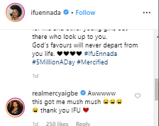 enna - Must Read: What Mercy Aigbe Said After BBNaija's Ifu Ennada Revealed How She Helped Her Make N1m In 24 Hours