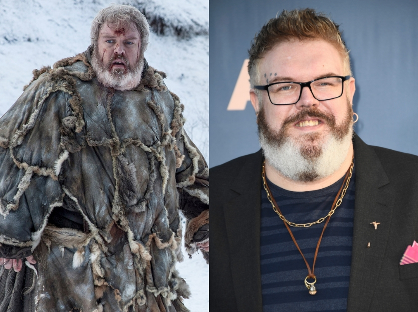 kristian nairn got 65724 - 5 Game Of Thrones Characters Who Look Unrecognizable Out of Costume
