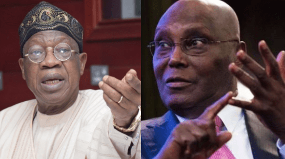 Atiku Calls For Immediate Arrest Of Minister For Information, Lai Mohammed