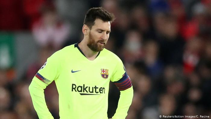 Messi's Hatrick Leads Barcelona To Top Of The League