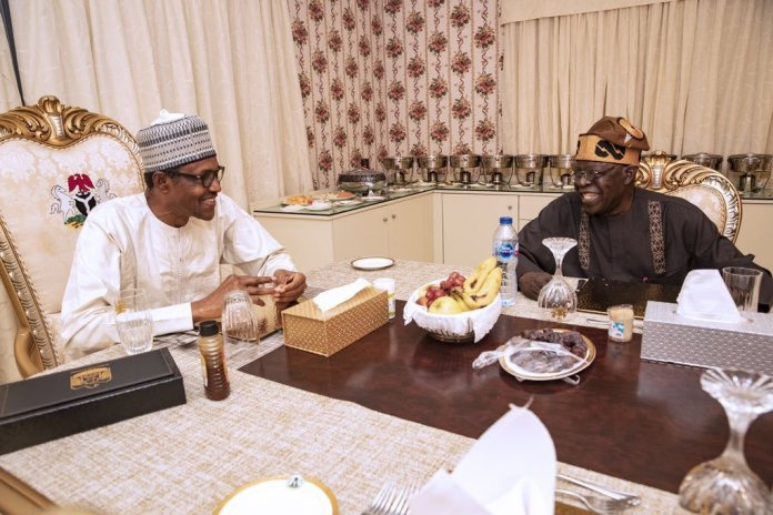 Must Read: What Nigerians Are Saying After Tinubu dines with Buhari at Aso Rock