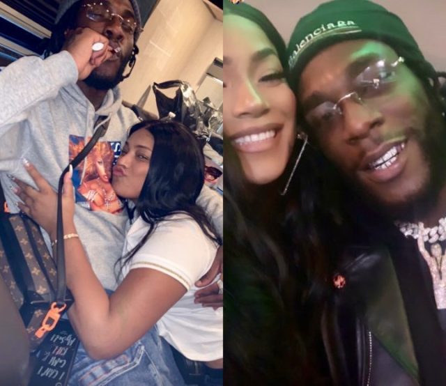 """He told me I was going to be his wife"" Stefflon Don reveals how she met Burna Boy"