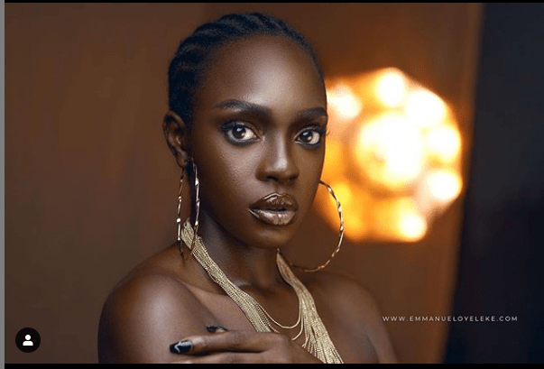 BROWN SKIN GIRL: 'Beverly Osu Wows In New Photos