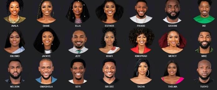 BBNaija 2019 housemates