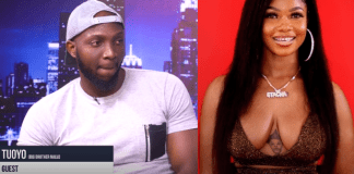 [Video]: 'I Think Tacha Is Using Juju To Extend Her Stay In The House' - Tuoyo Reveals