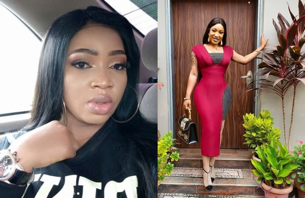 Blessing Osom and Tonto Dikeh
