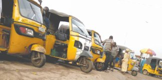 Tricycles in Anambra