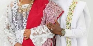 Toyin Abraham and Kolawole