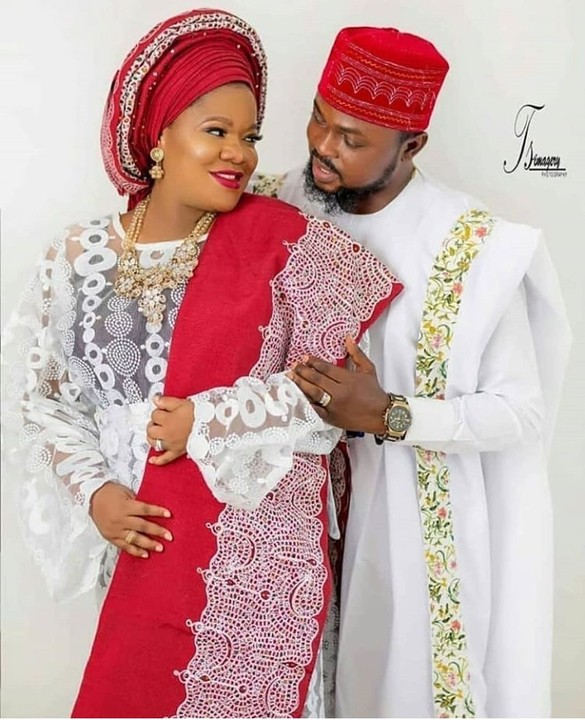 Toyin Abraham, Husband Step Out In Style (Video)