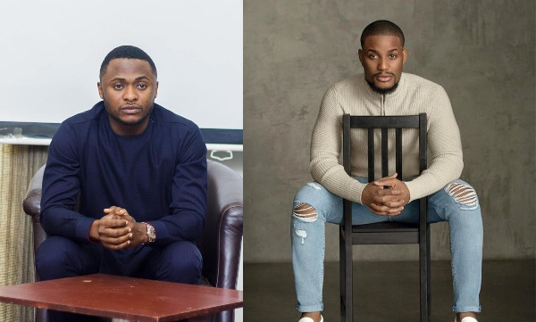 Alex Ekubo and Ubi Franklin