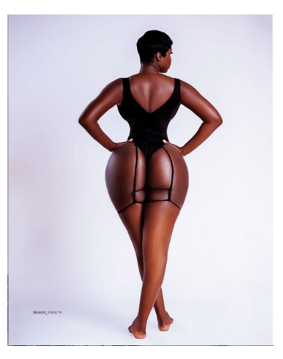 [Photo]: Princess Shyngle Flaunts Her Massive Derriere In Sexy New Image