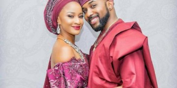 So Cute! Between Banky W And Wife Adesua Etomi