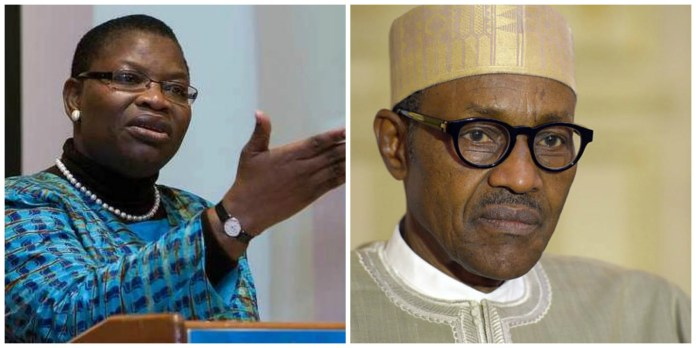 Oby Ezekwesili and Buhari