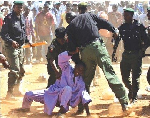 Police harrassment