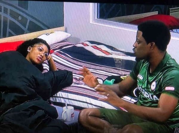 Seyi and Tacha have heart to heart discussion