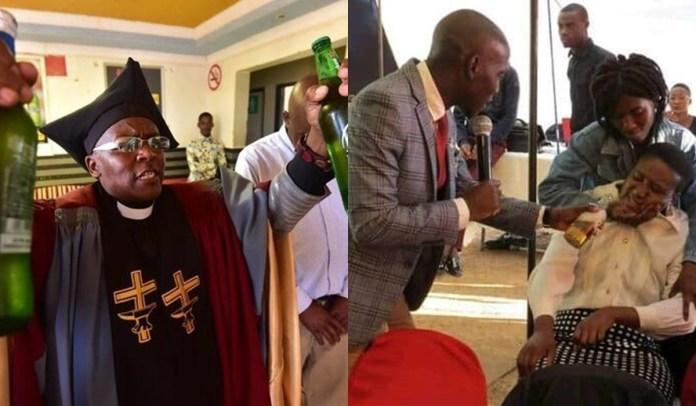 Pope, Tsietsi Makiti and Prophet Sonny Rakgorwana