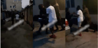 man forcefully retrieved the car he bought for his ex wife