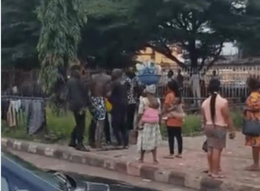 SARS Operatives assaulting the boy and mum