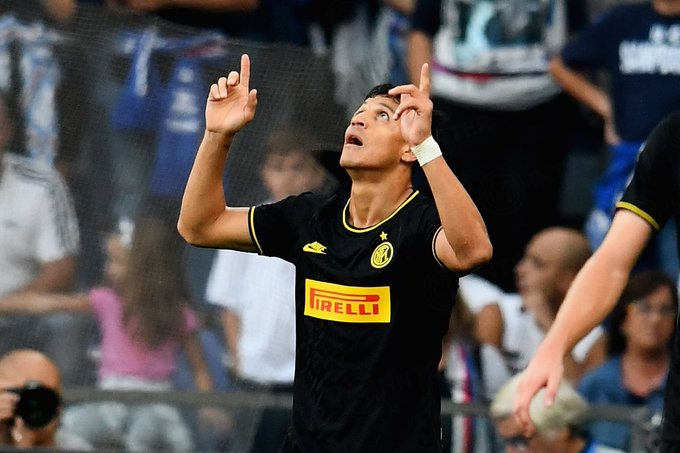 Alexis Sanchez Scores Two Objectives, Sees Purple On Full Inter Milan Debut