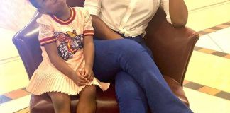 Sophia Momodu and Imade Adeleke
