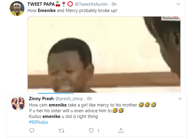 Nigerians react to Mercy's claims