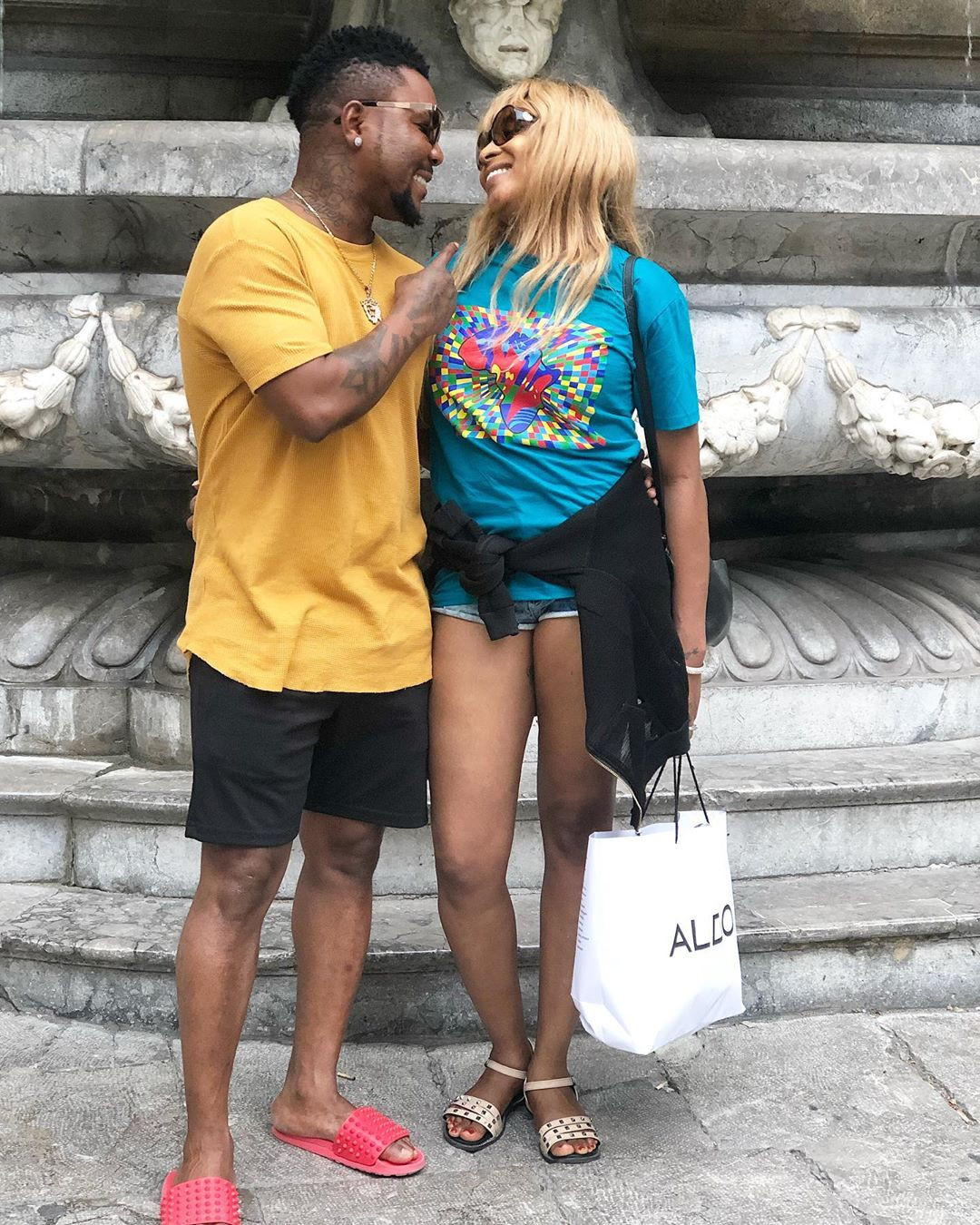 Oritsefemi, Wife Share Photos From Baecation In Italy