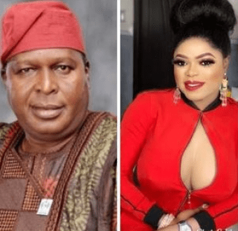 Collage photo of Olusegun Runsewe and Bobrisky