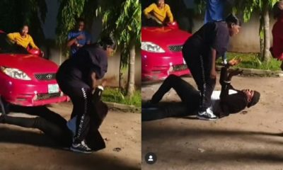Actor Odunlade Adekola and Teni fight dirty