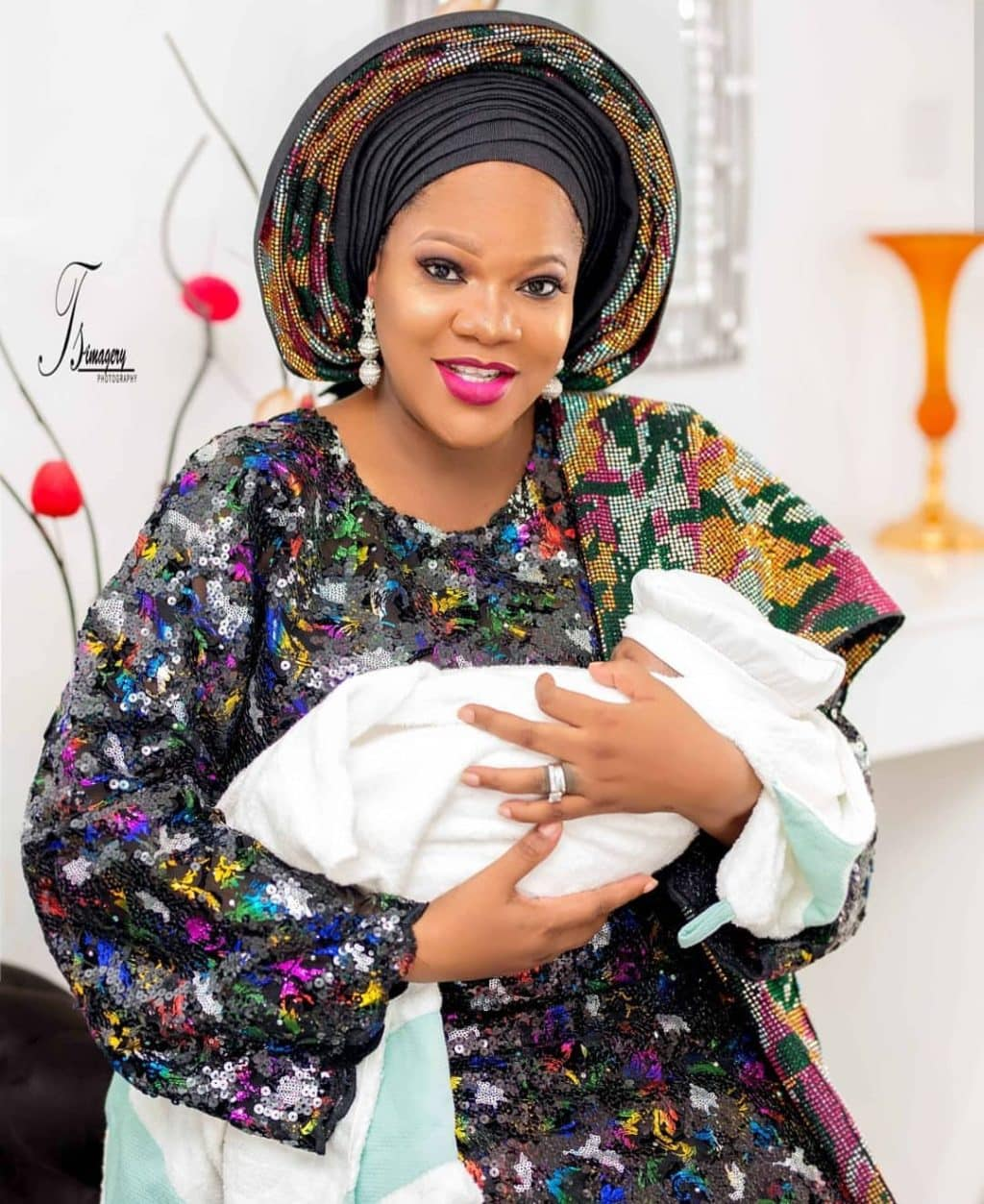 Toyin Abraham's Baby Becomes Nigeria Most Influential Baby (Picture)