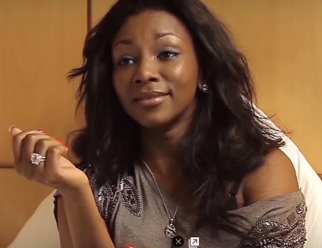 Actress Genevieve Nnaji Caught Dancing 'Tesumole' (Video)