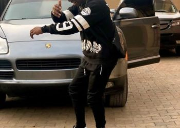 Small Doctor Furious After A Man Bashed His Porsche At Lagos Airport (Video)
