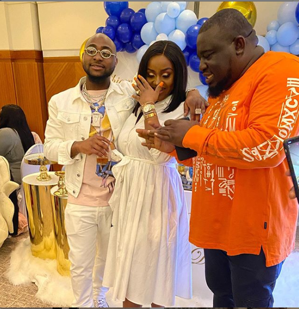 Davido Prays For His Son At His Naming Ceremony (Video)