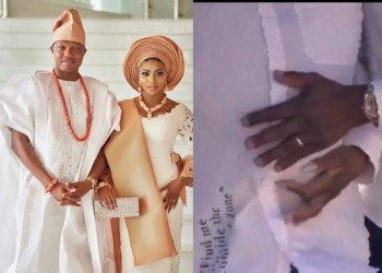 Stephanie Coker Welcomes Her First Child With Husband, Olumide Aderinokun