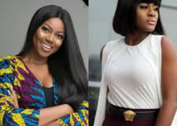 Actress, Yvonne Nelson Spotted With Alex Unusual In Ghana (Photograph)