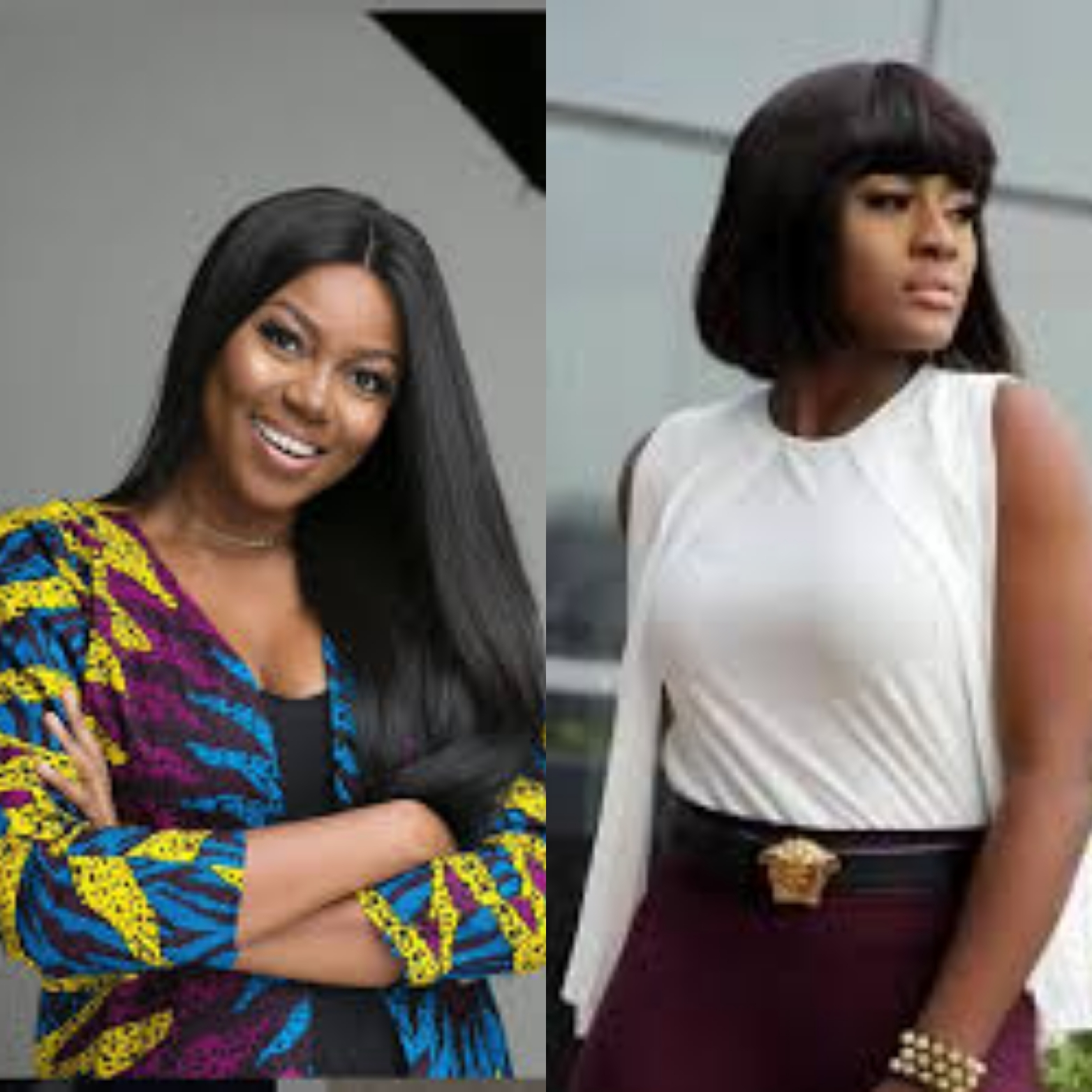 Actress, Yvonne Nelson Spotted With Alex Unusual In Ghana (Picture)