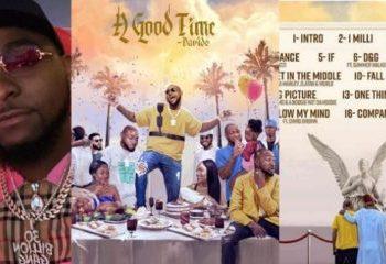 Davido Drops Much Anticipated New Album, 'A Good Time'