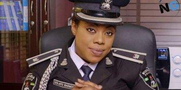 Officer Dolapo Badmus Reacts To Naira Marley's Controversial Tweet (Photograph)