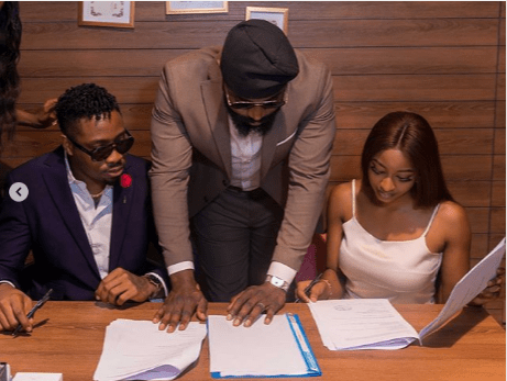 BBNaija Ike, Kim Oprah Sign Under New Management