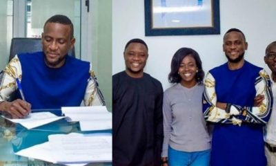Omashola Signs Endorsement Deal With Plaqadinc