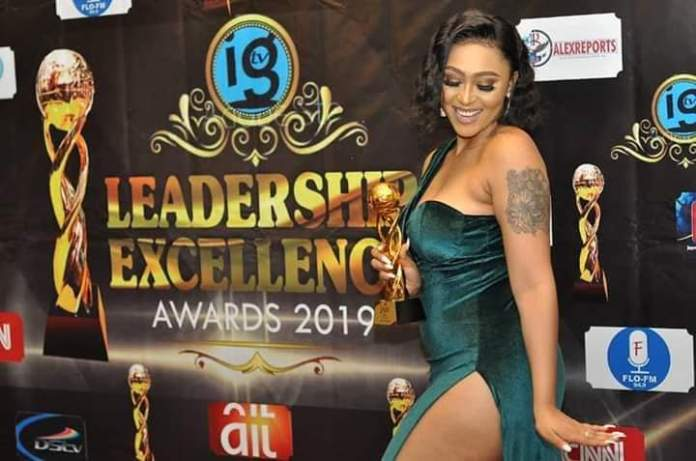 This Cloth Is Inviting Demons – Rosy Meurer Slammed Over Her Outfit To An Award Show