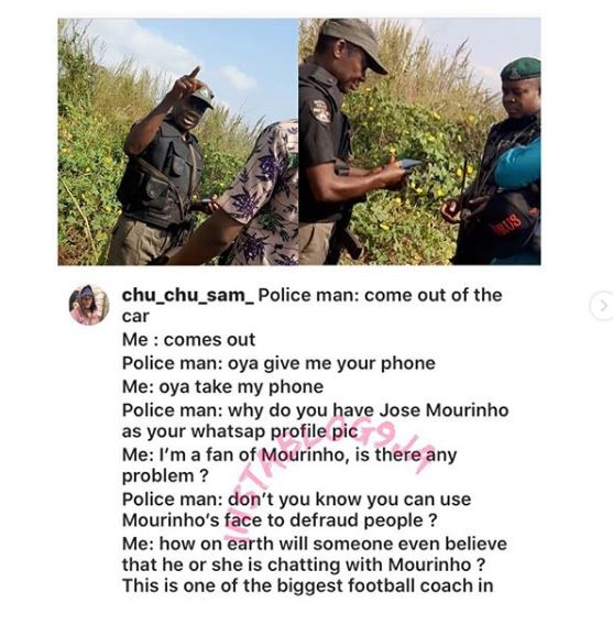 Man Narrates Encounter With Police