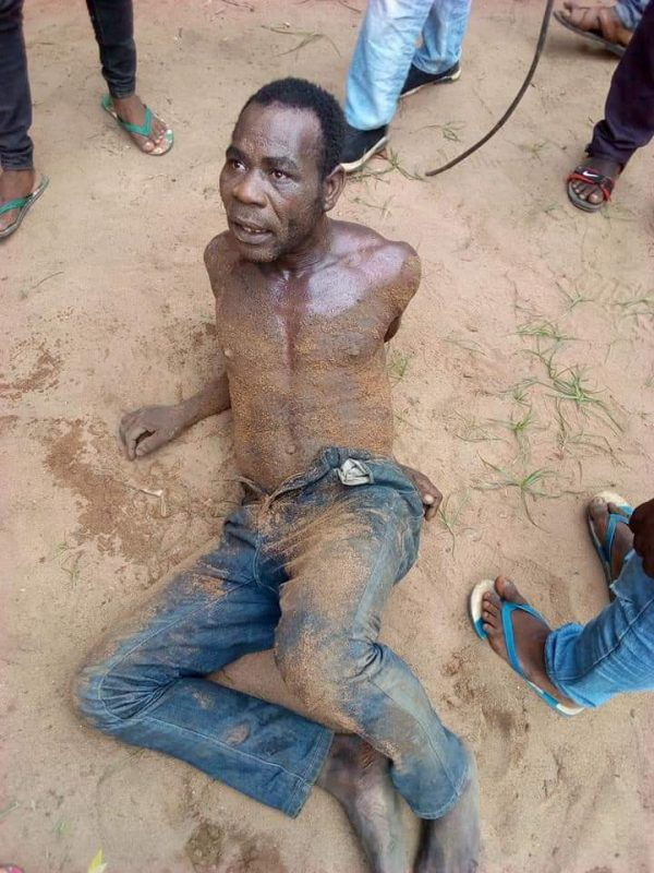 Mob Nabs Man Caught Raping A Child Inside Bus In Abia