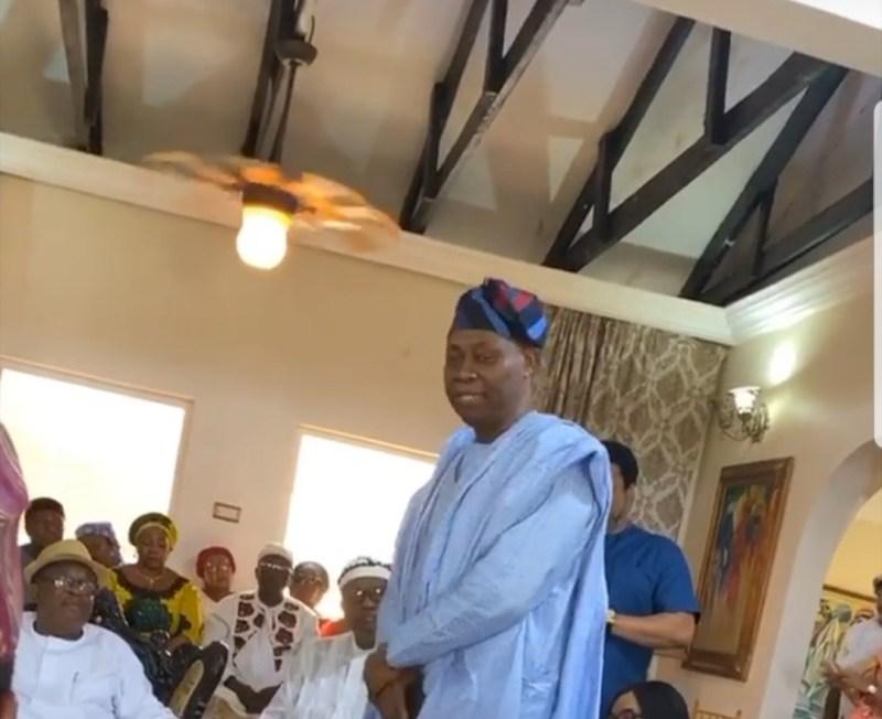 Adewale Adeleke wedding introduction