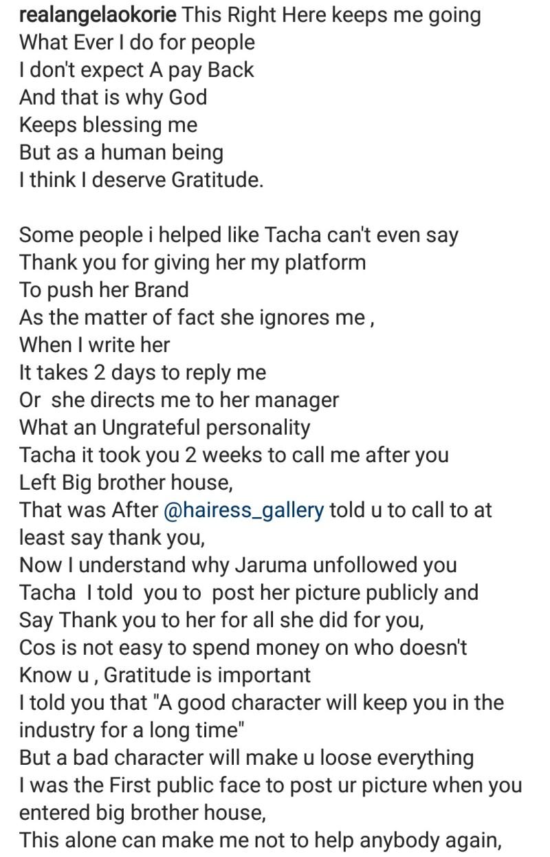 Okorie's post