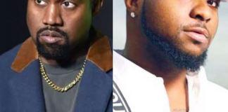 Kanye West and Davido
